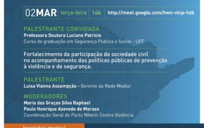 Participe dos Nossos ENCONTROS GOVERNO E SOCIEDADE CIVIL