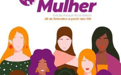 AÇÃO MULHER: DIVERSOS SERVIÇOS E ATIVIDADES NO PARQUE RURAL DE NITERÓI, NO DIA 25 DE SETEMBRO